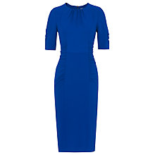 Buy Whistles Textured Izzey Bodycon Dress, Blue Online at johnlewis.com