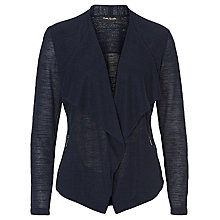 Buy Betty Barclay Fine Knit Waterfall Cardigan, Navy Online at johnlewis.com