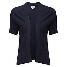 Buy Pure Collection Vivian Gassato Shrug, Navy Online at johnlewis.com