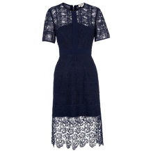 Buy Whistles Ailsa Placement Lace Dress Online at johnlewis.com