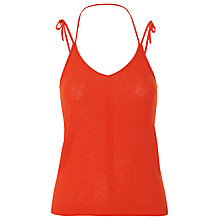 Buy Whistles Knitted Tie Vest Online at johnlewis.com