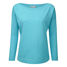 Buy Pure Collection Dahlia Jumper, Summer Turquoise Online at johnlewis.com
