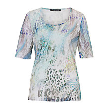 Buy Betty Barclay Animal Print T-Shirt, Multi Online at johnlewis.com