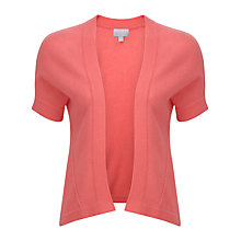 Buy Pure Collection Hadley Gassato Shrug, Tropical Pink Online at johnlewis.com