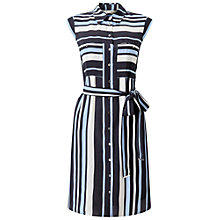 Buy Miss Selfridge Stripe Shirt Dress Online at johnlewis.com