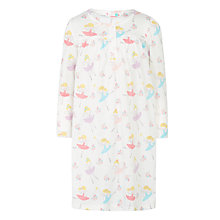 Buy John Lewis Girls' Fairies Nightdress, Cream Online at johnlewis.com