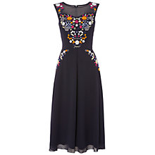 Buy Raishma Floral Dress, Navy/Multi Online at johnlewis.com