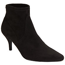 Buy John Lewis Stiletto Heeled Ankle Boots, Black Online at johnlewis.com