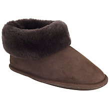 Buy John Lewis Sheepskin Slipper Boots Online at johnlewis.com