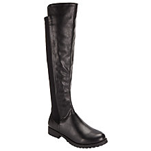 Buy John Lewis Paisy 2 Knee High Boots, Black Online at johnlewis.com
