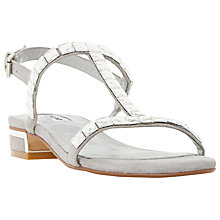 Buy Dune Nella Jewelled Block Heeled Sandals Online at johnlewis.com