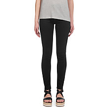 Buy Whistles Skinny Jeans, Black Online at johnlewis.com