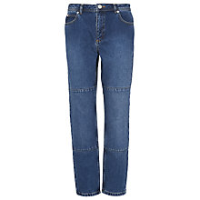 Buy Whistles Panelled Boyfriend Jeans, Denim Online at johnlewis.com