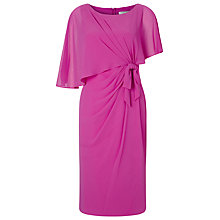 Buy Jacques Vert Lorcan Bow Sided Capelet Dress Online at johnlewis.com