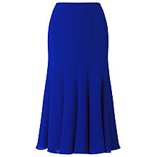 Buy Jacques Vert Chiffon Godet Skirt, Mid Blue Online at johnlewis.com
