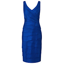 Buy Jacques Vert Shimmer Shutter Dress, Blue Online at johnlewis.com