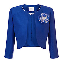 Buy Jacques Vert Raglan Detail Bolero, Mid Blue Online at johnlewis.com