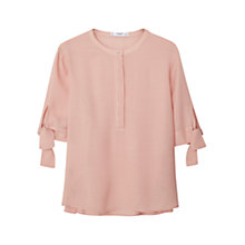 Buy Mango Flowy Textured Blouse Online at johnlewis.com