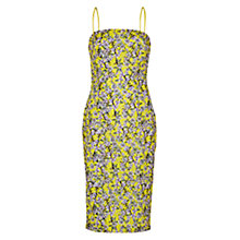 Buy Louche Camber Floral Print Dress, Yellow Online at johnlewis.com