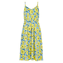 Buy Louche Shanta Floral Print Sundress, Blue/Yellow Online at johnlewis.com