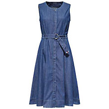 Buy Tommy Hilfiger Kendy Denim Dress, Indigo Online at johnlewis.com