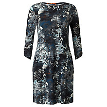Buy BOSS Orange Dimaiki Printed Jersey Dress, Multi Online at johnlewis.com