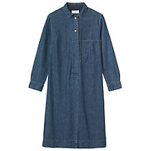 Buy Toast Denim Shirt Dress, Indigo Online at johnlewis.com