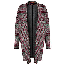 Buy BOSS Orange Tiver Stripe Boucle Coatigan, Multi Online at johnlewis.com