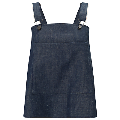 Waven Elise Dungaree Top, Indigo Raw