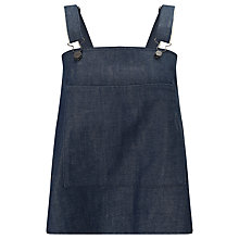 Buy Waven Elise Dungaree Top, Indigo Raw Online at johnlewis.com