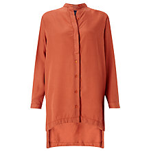 Buy Waven Agnes Tunic Top, Burnt Orange Online at johnlewis.com