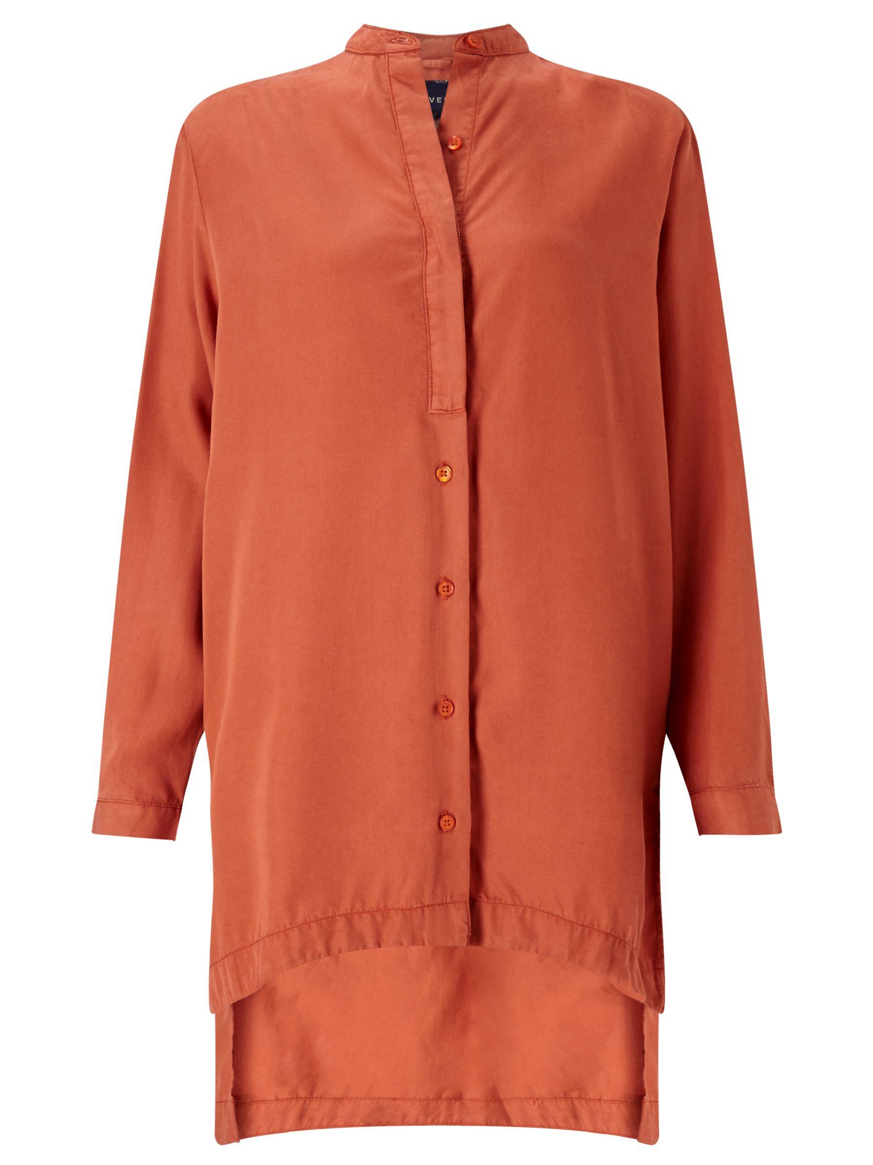 Waven Waven Agnes Tunic Top, Burnt Orange