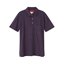 Buy Jigsaw Cotton Linen Stripe Polo Shirt Online at johnlewis.com