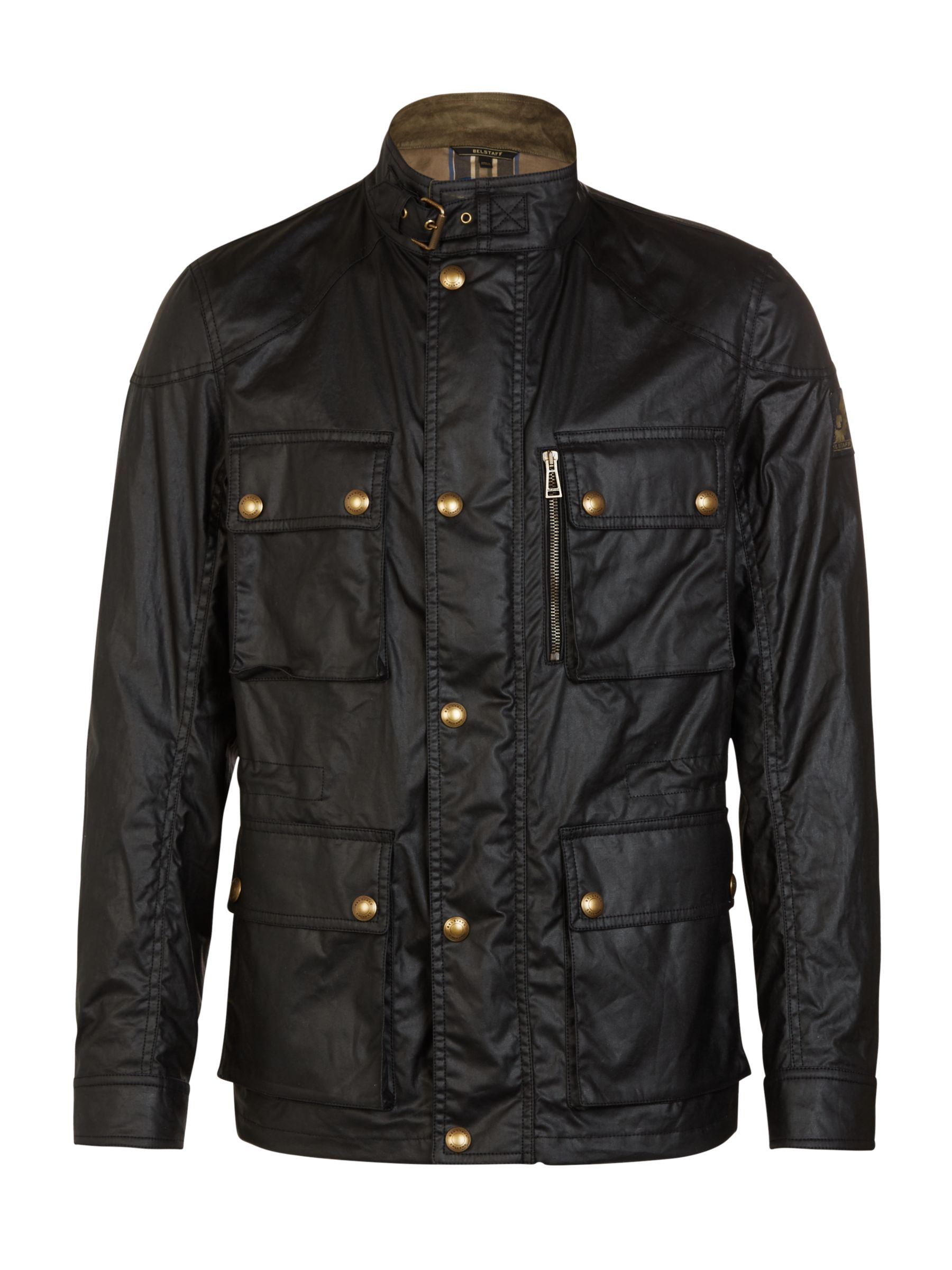 Belstaff Belstaff Trialmaster 4-Pocket Water Resistant Waxed Jacket