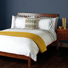 Buy John Lewis Meeko Pom Pom Duvet Cover and Pillowcase Set Online at johnlewis.com