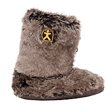 Buy Bedroom Athletics Cole Faux Fur Slipper Boots Online at johnlewis.com