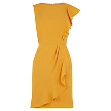 Buy Oasis Frill Side Shift Dress Online at johnlewis.com