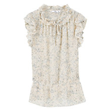Buy Mango Floral Print Blouse Online at johnlewis.com