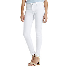 Buy Oasis Jade Jeans, White Online at johnlewis.com