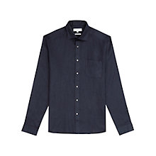 Buy Reiss Napoli Slim Fit Linen Shirt Online at johnlewis.com