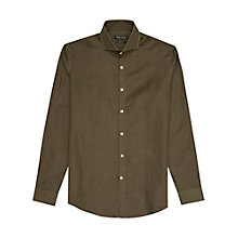 Buy Reiss Perdie Linen Slim Fit Shirt Online at johnlewis.com