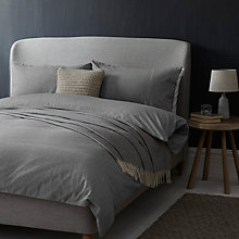 Buy John Lewis Croft Collection Euan Stripe Brushed Cotton Bedding Online at johnlewis.com