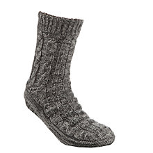Buy John Lewis Lounge Socks, Charcoal Online at johnlewis.com