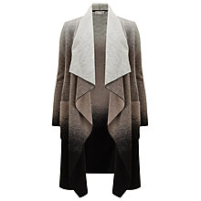 Buy Windsmoor Long Ombre Coatigan, Dark Grey Online at johnlewis.com