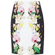 Buy Ted Baker Forgot Me Not Pencil Skirt, Black Online at johnlewis.com