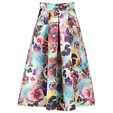 Buy Jolie Moi Floral 50s A-Line Skirt, Multi Online at johnlewis.com