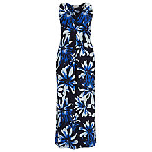 Buy Windsmoor Anise Print Maxi Dress, Blue Online at johnlewis.com