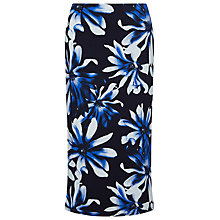 Buy Windsmoor Anise Print Jersey Maxi Skirt, Blue/Multi Online at johnlewis.com