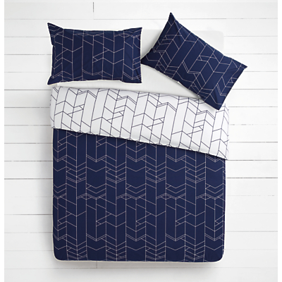 House by John Lewis Elevation Duvet Cover and Pillowcase Set