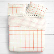 Buy House by John Lewis Quadrille Duvet Cover and Pillowcase Set Online at johnlewis.com